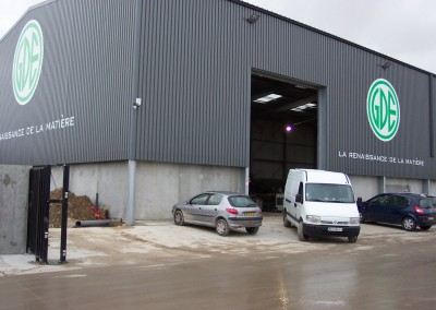 Centre de recyclage des matériaux ferreux Izon (33)