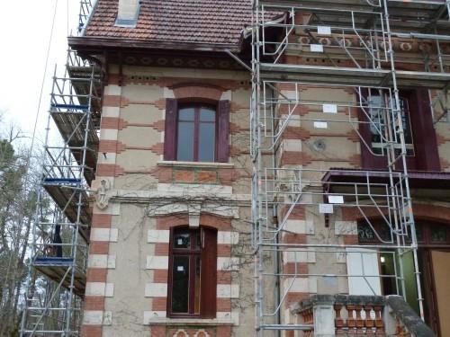 Chalet Mauriac Saint-Symphorien (33) rénovation