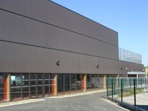 façade du collège Capeyron - Aqio