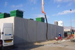 murs des cuves à éthanol DPA - construction Aqio