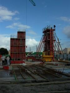chantier du pôle culturel Evasion à Ambares - Aqio