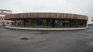 Lycée daguin réfectoire par Aqio