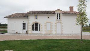 château duplessy vue maison - Aqio