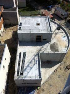 bâtiment lycée Daguin vu du ciel - Aqio