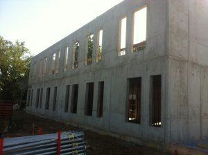 construction maison de retraite miséricorde mur