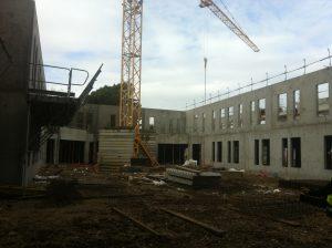construction maison de retraite miséricorde par Aqio
