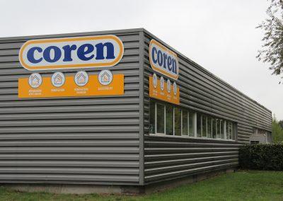 Construction de Coren, l'agence de Mérignac
