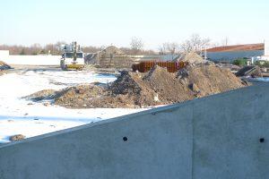 chantier exterieur boulodrome