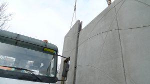 montage mur matricé en forme de boule de pétanque