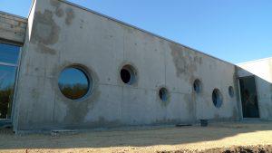 ecole-tabarly mur façade terminé