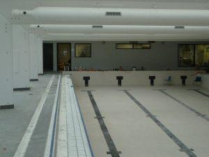 travaux a l'interieur piscine bassens