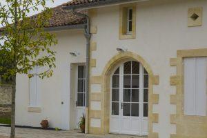 Château Duplessy façade pierre maison par Aqio