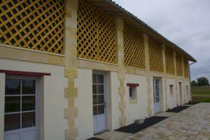 duplessy façade bois chais