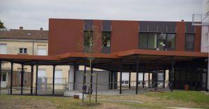extension arrière du lycée jean monnet à blanquefort - Aqio