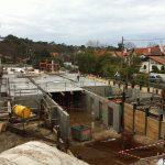 Aqio maison de retraite hospitalisée saint Dominique arcachon construction sol premier étage