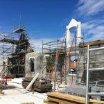 maison de retraite hospitalisée saint Dominique arcachon construction premier étage