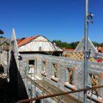 Aqio maison de retraite hospitalisée saint Dominique arcachon toit en construction