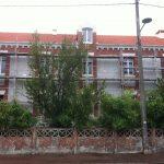Aqio maison de retraite hospitalisée Saint Dominique arcachon échafaudage rue