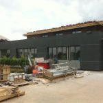 lycée pape clément façade en construction par Aqio