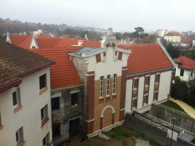 Aqio maison de retraite hospitalisée saint dominique arcachon vue d'ensemble
