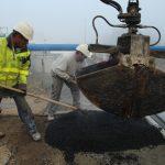 vermillon construction du pont