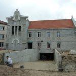 maison de retraite hospitalisée saint Dominique arcachon en fin de construction