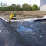 vermillon génie civil bac de rétention eau en construction