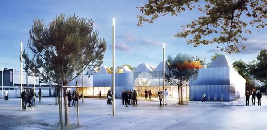 Nouvelle bibliothèque pour Bordeaux Caudéran (33)
