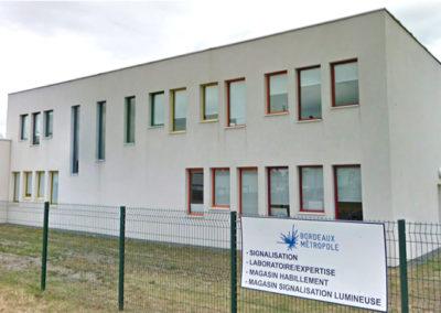 Bâtiment du Service expertise de Bordeaux Métropole (33)