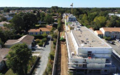 Aqio réalise le nouvel EPHAD de Villenave d'Ornon