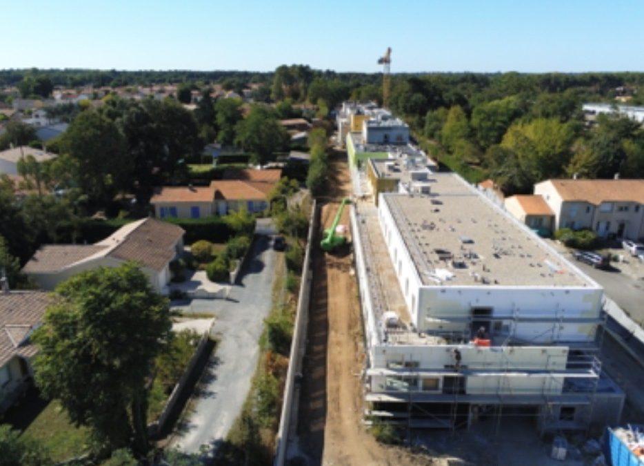 aqio construction ephad villenave