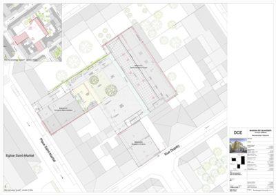 Aqio participe à la reconstruction et à l'extension de la Maison de Quartier Saint Martial à BORDEAUX.